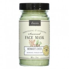 Organic Natural Face Mask for Oily Combination Problem Acne prone Skin Detoxing balancing with organic Kelp French Green Clay No synthetics no preservatives no toxins 3 oz 85 g ** Learn more by visiting the image link. (This is an affiliate link) Organic Face Products, Pure Products, Beauty Products, Natural Products, Facial Products, Beauty Secrets, Beauty Tips, Acne Prone Skin, Oily Skin