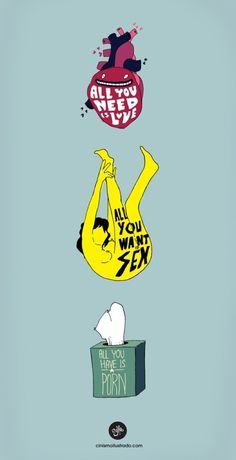 """""""All you need is love."""" 