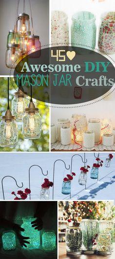 Awesome DIY Mason Jar Crafts