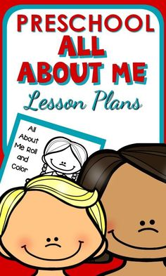 All About Me Lesson Plans and Activities for Preschool - perfect for back to school - easy for teachers to use.