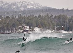 Michigan Surfing Lake Superior