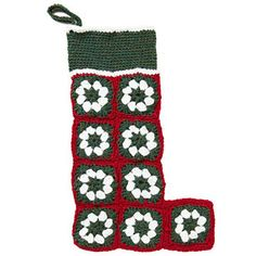 How to Knit and Crochet Christmas Stockings