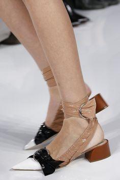 Dior shoes, Christian dior shoes, Shoes, Fashion shoes, Runway shoes, Shoes 2016 - Christian Dior Spring 2016 ReadytoWear Fashion Show -  #Diorshoes