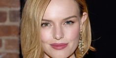 Hairstylist Harry Josh gave Kate Bosworth a chic lob. you'll need a light-hold pomade or styling cream to give the ends separation  and movement.
