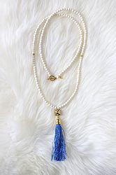 The  necklace from Monica Meadow online www.monicameadow.com #tassels