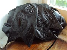 Vintage 80s Oversized Avant Garde Frame Purse by nanapatproject, $26.00