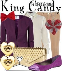 King Candy by disneybound