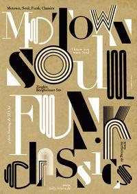 Motown, Soul, Funk Classics: Poster