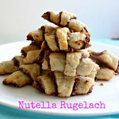 nutella, rugelach, cookies, kosher, Jewish recipes, chocolate