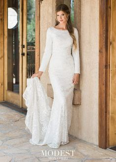 69637865 Wedding Dresses Lds, Mon Cheri Wedding Dresses, Second Wedding Dresses, Bridal  Dresses,
