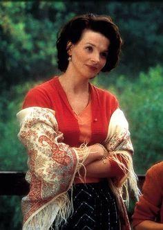 Vianne in Chocolat played by Juliette Binoche