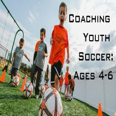 Great Video Course on Coaching Youth Soccer: Ages 4 to 6 Soccer Practice Drills, Soccer Drills For Kids, Soccer Skills, Youth Soccer, Soccer Tips, Soccer Games, Football Drills, Volleyball Motivation, Sport Motivation
