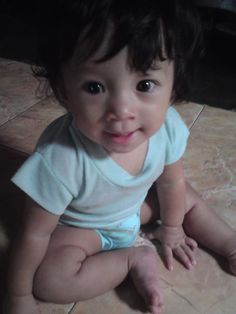 cute baby ..