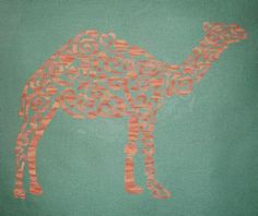 Tribal Camel Monochrome Cross Stitch Chart - White Willow Stitching Cross Stitch - (Powered by CubeCart)