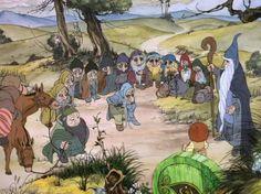 Gandalf, Bilbo et les Nains (bande dessinée)