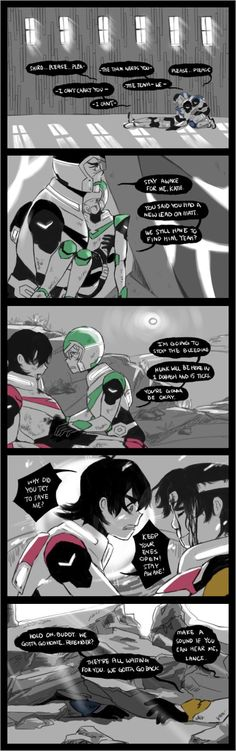 *me with tears in my eyes in the corner of my room with my head in my knees I whisper* who the quiznack gave you the right? *me with tears in my eyes in the corner of my room with my head in my knees I whisper* who the quiznack gave you the right? Voltron Memes, Voltron Comics, Voltron Fanart, Form Voltron, Voltron Ships, Voltron Klance, Voltron Force, Klance Comics, Space Cat