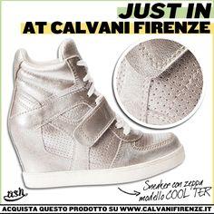 La sneaker must have di #Ash cambia look e diventa #metallizzata! Scopri tutti i modelli #CoolTer #ashitalia #justin