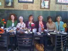 Lunch with the ladies! We love breaking bread after our bible study.