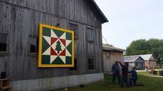 how to paint a quilt, as northern Michigan opens its latest barn quilt ...