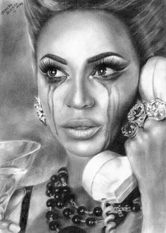 Beyonce Drawings | beyonce 'why don't you love me?' by marika-k