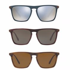 f175d310e90136  515 OLIVER PEOPLES New Rue De Sevres Polarized Sunglasses Brown Blue  OV5354SQ  OliverPeoples  Square