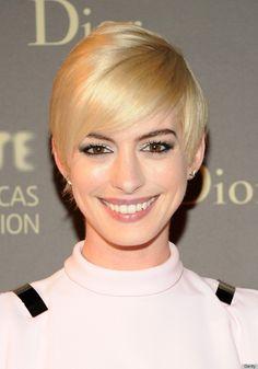 Anne Hathaway Blonde Hair | Anne Hathaway's Blonde Hair Has Taken An Interesting Turn (PHOTOS)