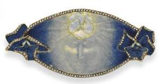 Lalique Pansy on the Moon