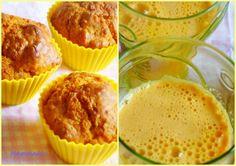 by Giorgia MammaecoUna merenda naturale: muffin alla carota e centrifuga solare