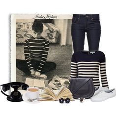 Best Audrey Hepburn Style In 2017 50 - Fazhion Style Casual, Casual Chic, Style Me, Estilo Gamine, Style Audrey Hepburn, Look Retro, Retro Style, Outfits Mujer, Mein Style