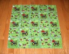 john deere baby bedding | JOHN DEERE Fabric Toddler Crib Bedding Tractor Farm by 1723diane