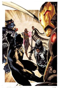 New Avengers #2 (Simone Bianchi Variant Cover)
