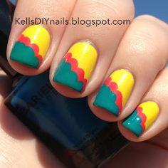 Kell's DIY Nails: Scalloped / Cloud Mani Featuring Barielle Shades.