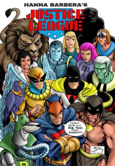 Hanna Barbera's Justice League