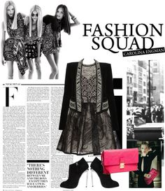 """squad"" by neenawidjaya ❤ liked on Polyvore"