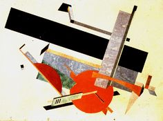 El Lissitzky, Proun (1926?)