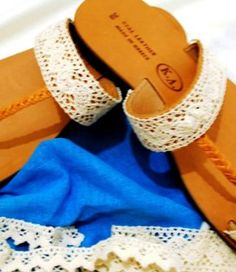 handmade greek sandals Greek Sandals, Rings, Handmade, Shoes, Hand Made, Zapatos, Shoes Outlet, Craft, Footwear