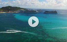 Espectacular Vídeo de St Maarten con 3 barcos de Celebrity Cruises desde Drone