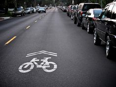 "What are ""sharrows"" and how are they used? 