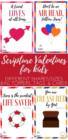 Scripture Valentines for Kids: The Fervent Mama - Last Monday, we kicked off the week by sharing a limited-time kid's freebie with you, Valentine's Day Scripture Copywork for Kids. Today, we're extending our Valentine's Day excitement with these Fun Scripture Valentines Printable for Kids! via @theferventmama