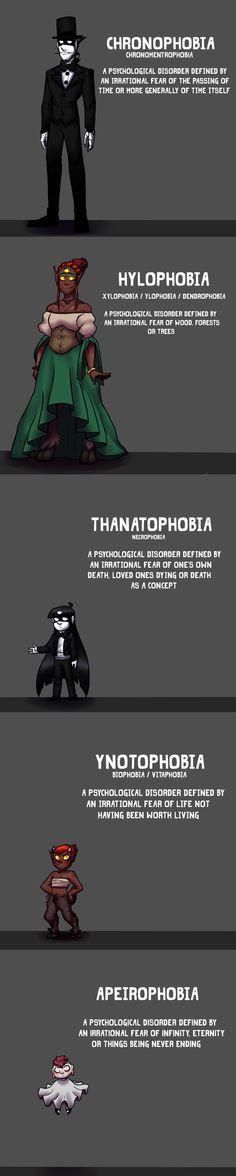 Phobias...