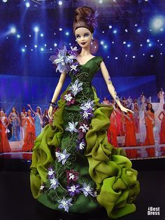 Ninimomo's Barbie.  Mediterranean and Middle East.  2009/2010  Miss Canary Islands
