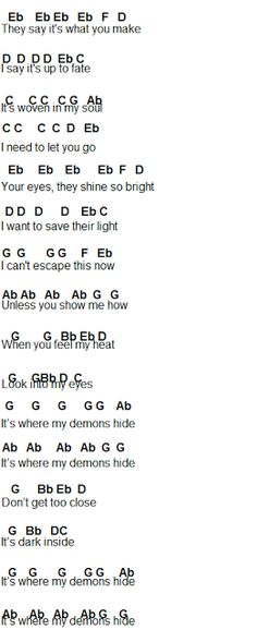 Flute Sheet Music demons p4