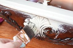Painting Dilemas. First, let's talk about the product.  Annie Sloan created chalk paint to meet the need of finding a paint made specifically for furniture painting, one that could be treated as a wash, and one that could be manipulated by the artist using it.  It was designed to create time-worn finishes.