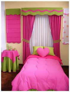 Show off your style with eclectic decorating. Turn your home spaces into a merry-go-round of happiness with a mix of styles and designs of a creative eclectic decor. Pink Curtains, Home Curtains, Baby Room Decor, Living Room Decor, Bedroom Decor, Designer Bed Sheets, Princess Room, Curtain Designs, Curtain Ideas