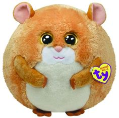 cecb6b69c2a So cute extra large plush Hamster Ty Beanie Ballz