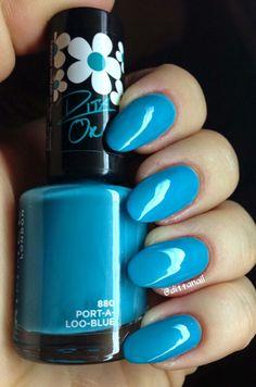 Rimmel London Port-a-loo-blue