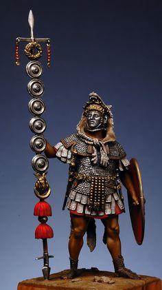 Military Figures, Military Art, Military History, Roman Warriors, Celtic Warriors, Ancient Rome, Ancient History, European History, Ancient Aliens