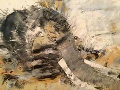 oil on canvas - 70 x 50 cm Oil On Canvas, Elephant, Paintings, Art, Art Background, Paint, Painting Art, Kunst, Elephants