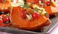 Dokonalá príloha: Zapečená tekvica so zeleninou | DobreJedlo.sk