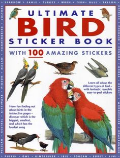 Ultimate Bird Sticker Book: With 100 amazing « Pet Lovers Ads